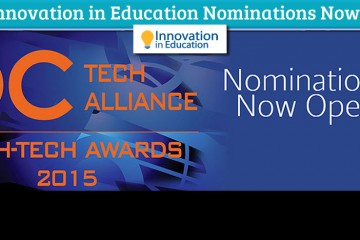 A banner ad seeking nominees for the 2015 Innovation in Education awards