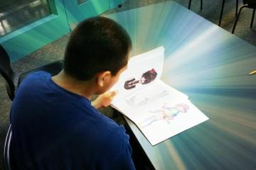 Photo of Erik, a student