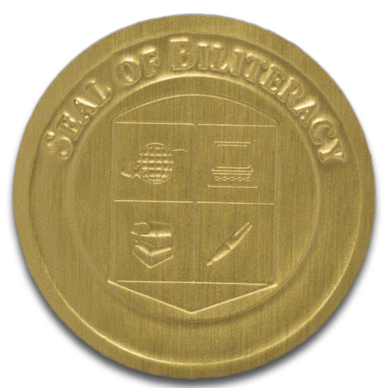 biliteral gold seal