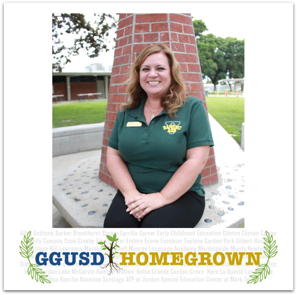 Garden Grove Unified staff member Bridget Lockhart