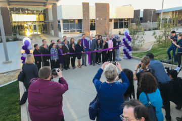 Portola High School dedication
