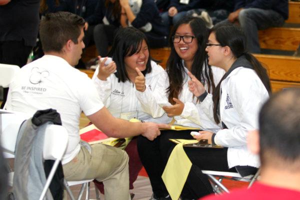 Students at the 2017 Orange County Academic Decathlon