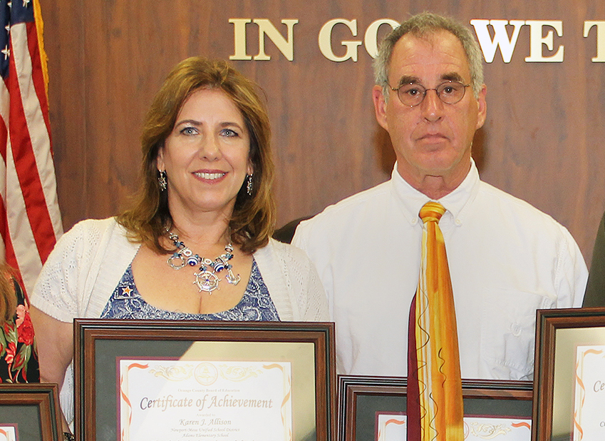 Two Orange County classified school employees win top state honor