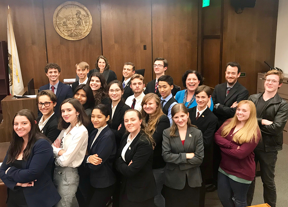 Pacific Coast High School's Mock Trial team advances to OC final