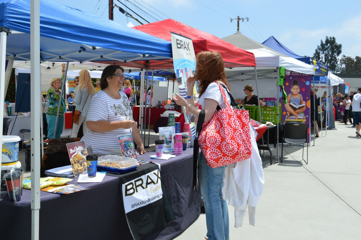 Booths at Fourth District PTA's 2016 Spring Training and Exhibitor Fair