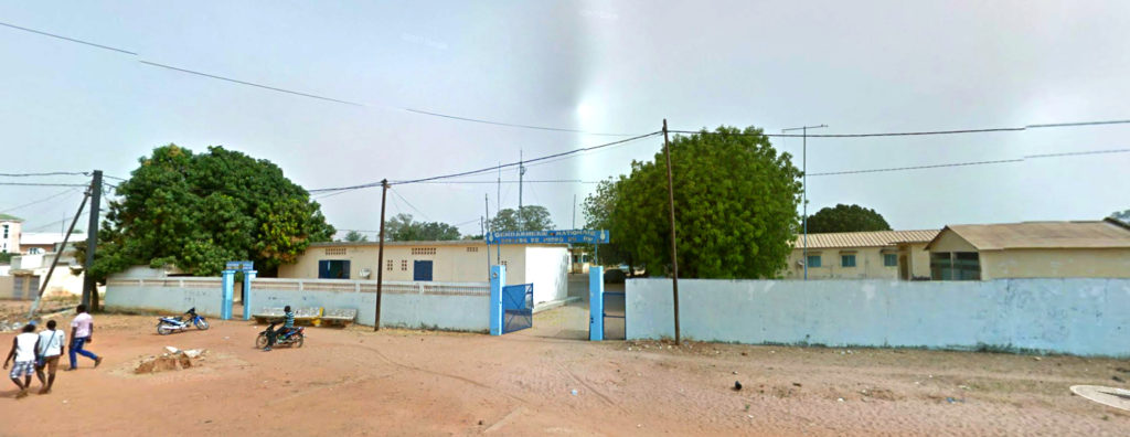 A Google Maps image of Lycee Maba Diakhou Ba Secondary School in Senegal