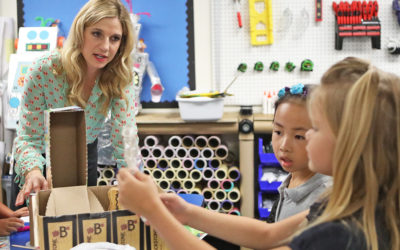 Courtney Smith Teacher of the Year helps students