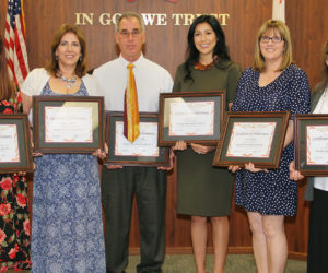 The 2017 Classified School Employees of the Year
