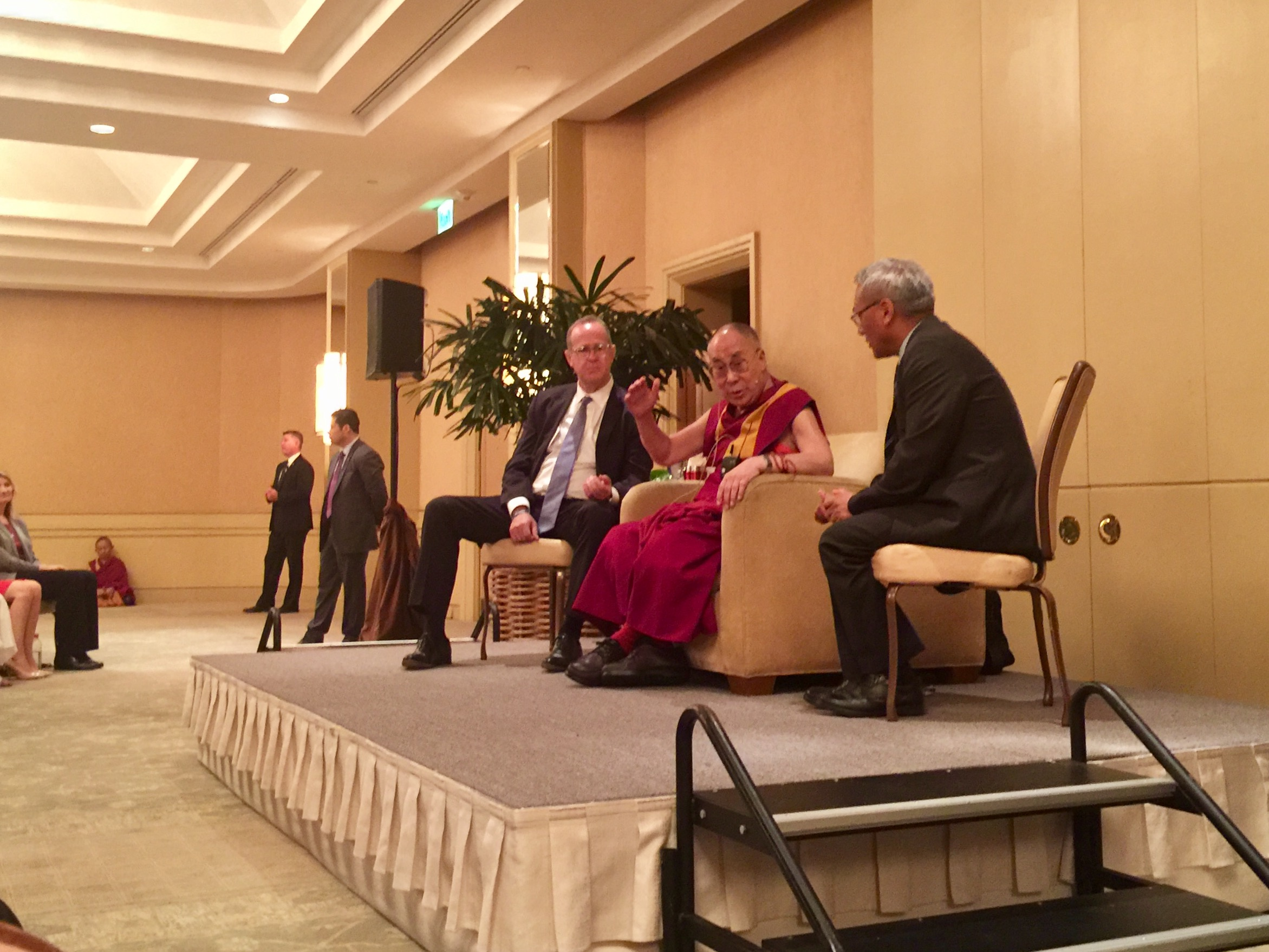 During an OC visit, Dalai Lama shares reflections on kindness with Anaheim educators