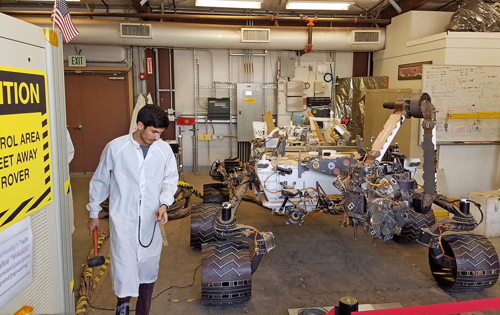 OC students learn about careers in space exploration during JPL visit