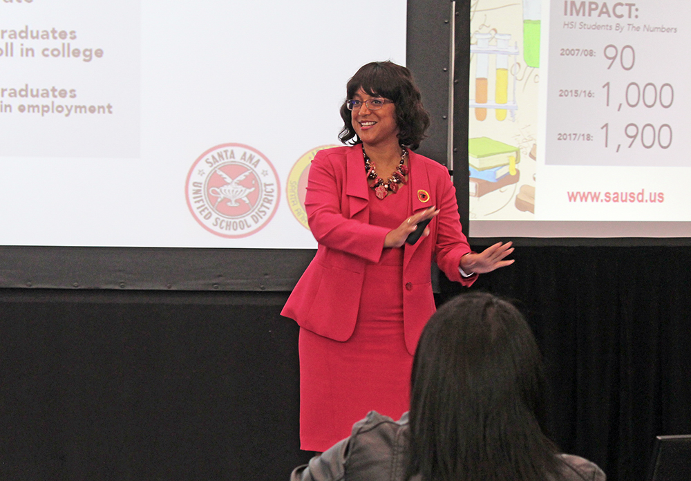 Growth in college prep programs touted at Santa Ana Unified's State of the District event