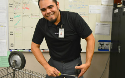 Robert Salazar, Garden Grove Unified's building operations supervisor