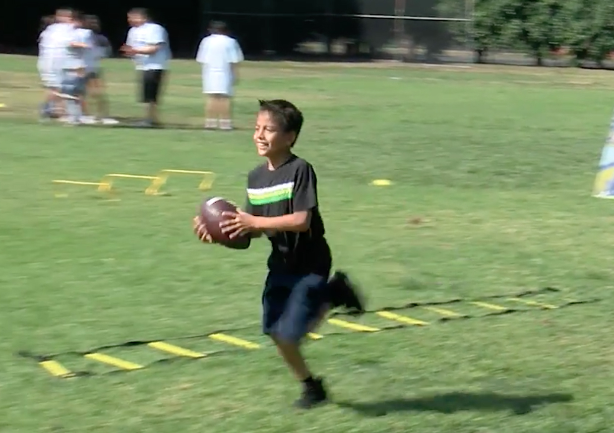 LA Chargers working to boost physical fitness among OC students