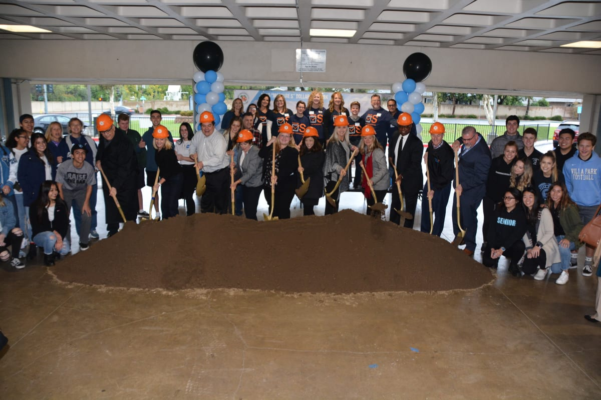 Orange Unified breaks ground on second of four new science centers