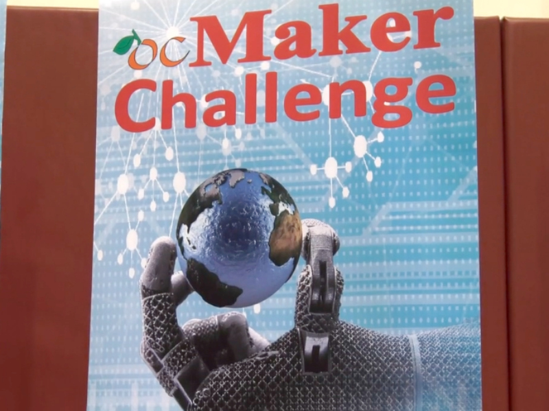 Student projects to address real-world needs at ocMaker Challenge