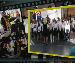 A screenshot of the VSA video