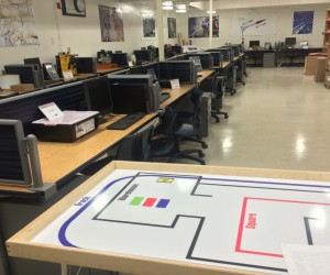 An image of the Cerro Villa Middle School STEM lab
