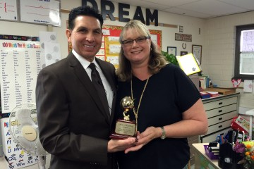 2016 Teacher of the Year Lisa Moloney