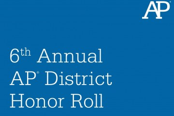 6th Annual AP District Honor Roll graphic