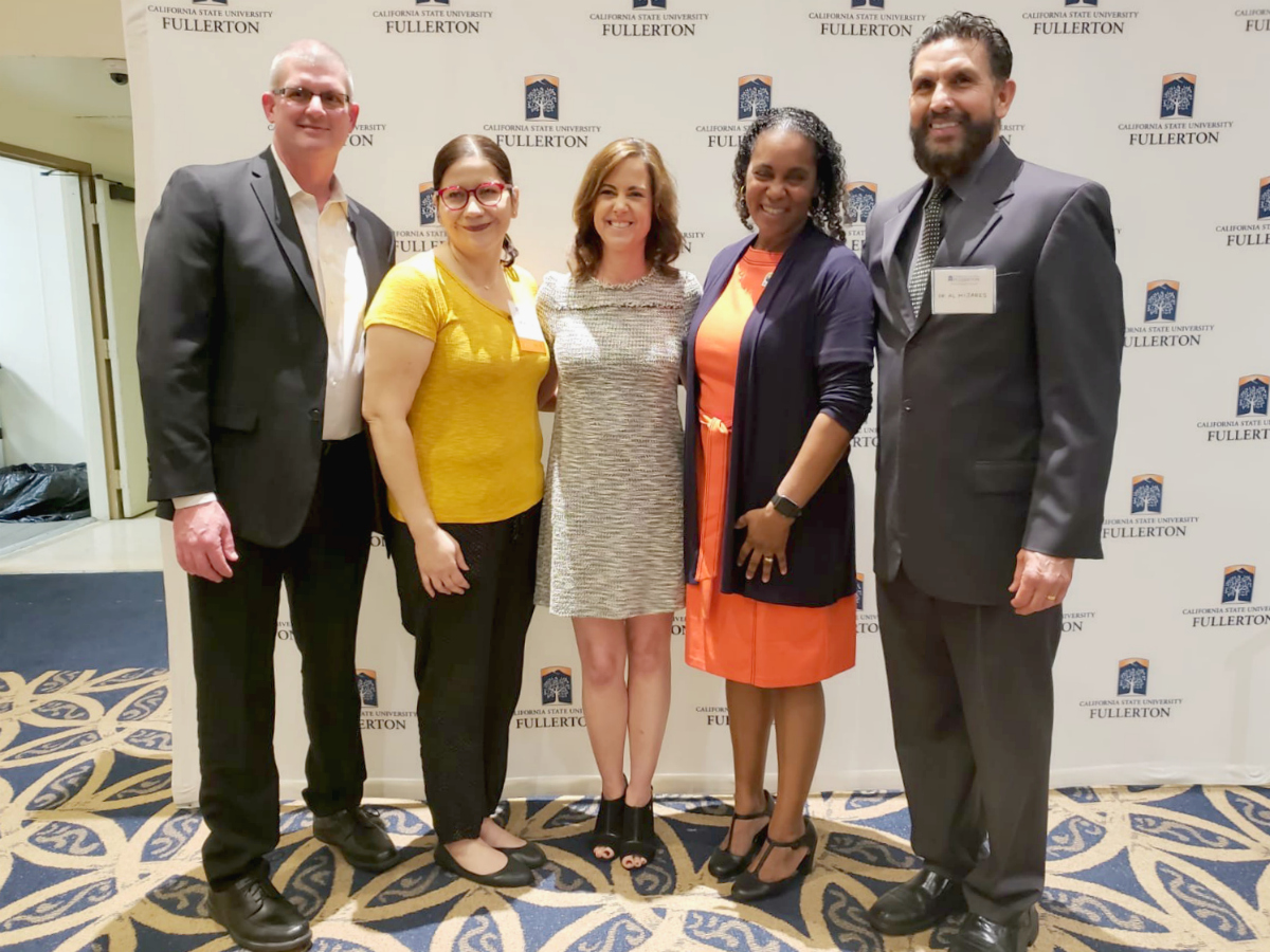 Cal State Fullerton program honors three educators from OCDE, Westminster School District