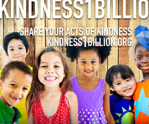 #kindness1billion title card