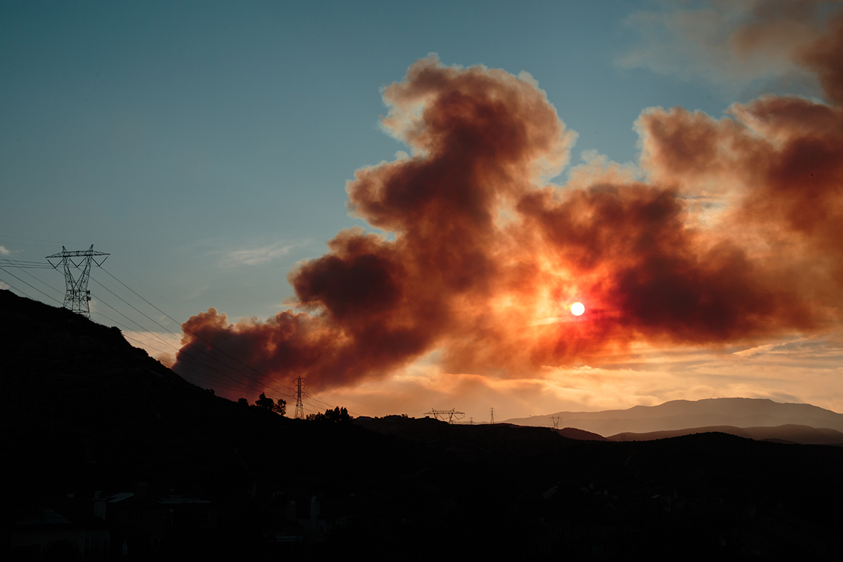 Here's the latest on local wildfires and school closures
