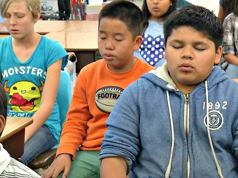 In the news: OC schools leverage mindfulness techniques to help students manage stress