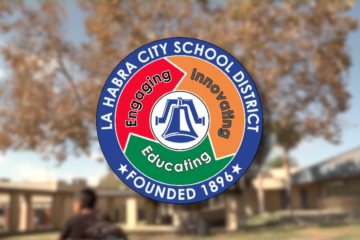 La Habra City School District logo