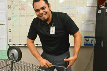 Robert Salazar, Garden Grove Unified's building operations supervisor