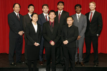 The Woodbridge High School Academic Decathlon team