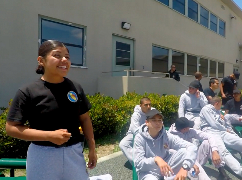 Student profile: Marisol and fellow cadets get a fresh start at Sunburst Youth Academy