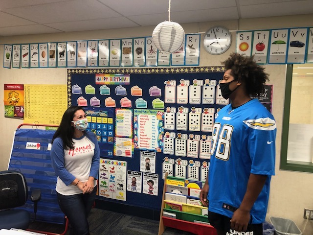 Weekly roundup: NFL star surprises Santa Ana students, school reopenings, promoting tolerance, and more