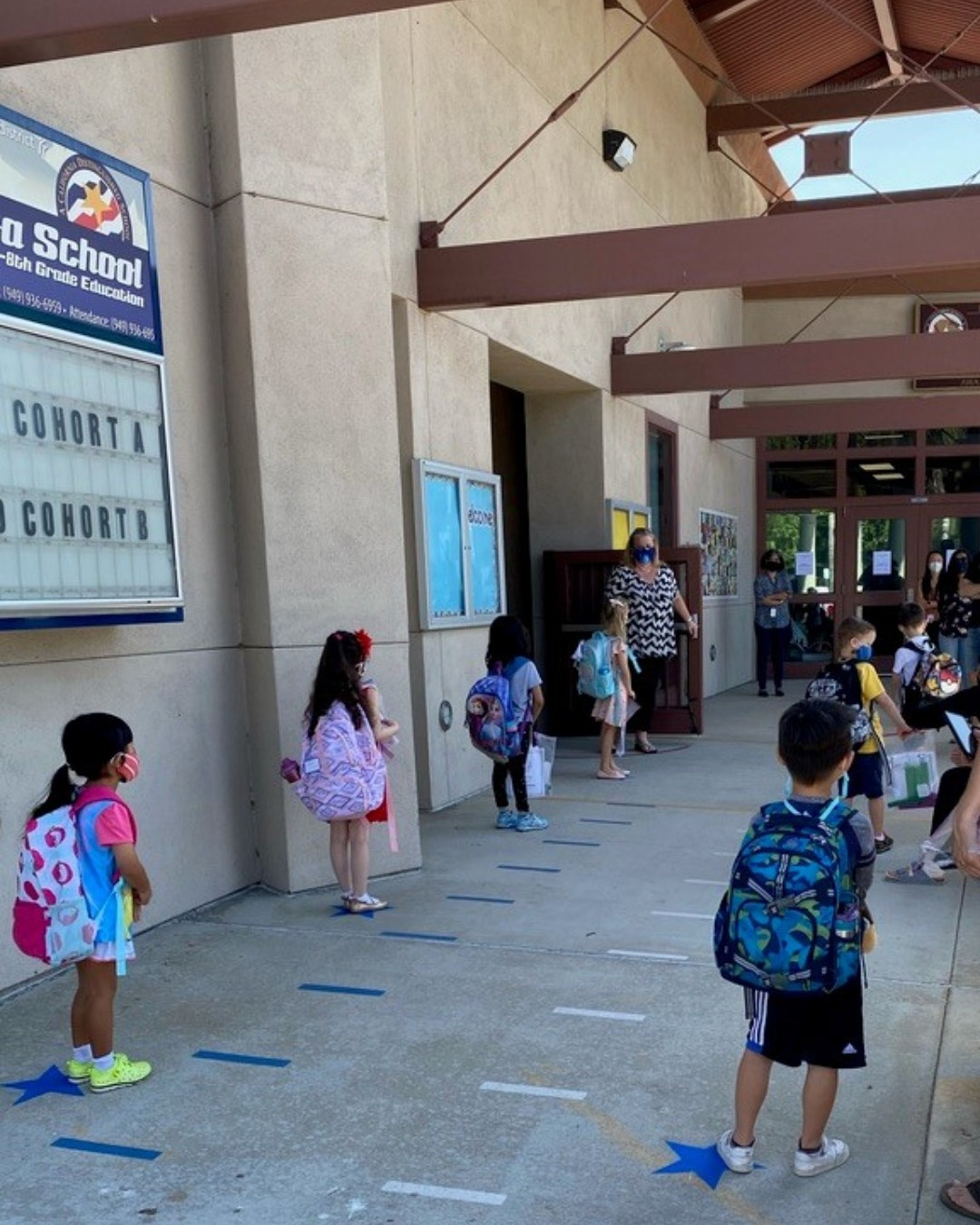 OC students begin return to in-person learning